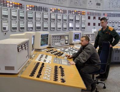 Блочный щит Минской ТЭЦ-5